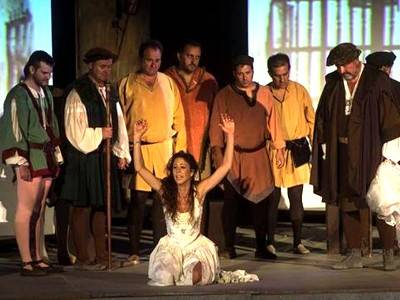 """LUIS CANSINO, in the cast of the world premiere of """"Fuenteovejuna"""""""