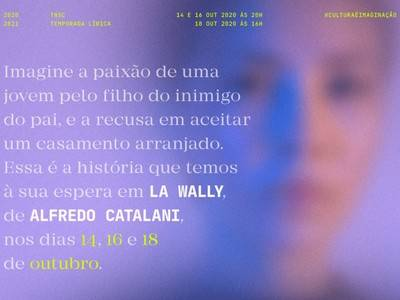 "LUIS CANSINO DEBUTS ""LA WALLY"" AT THE SÃO CARLOS NATIONAL THEATER IN LISBOA"