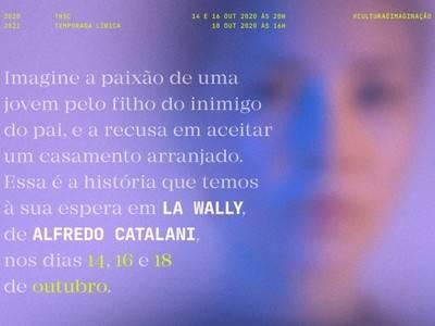 """LUIS CANSINO DEBUTA """"LA WALLY"""" EN EL TEATRO NACIONAL DE SÃO CARLOS DE LISBOA"""